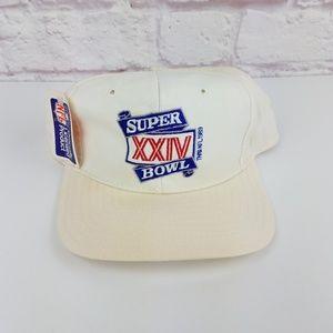 Vintage 1989 NFL Original Super Bowl Snapback Hat